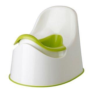 IKEA イケア おまる ホワイト グリーン c40193129 LOCKIG