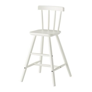 IKEA イケア 子供用チェア ホワイト c50253537 AGAM