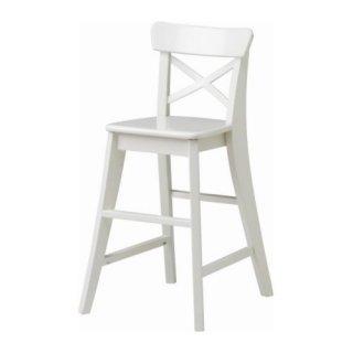 IKEA イケア 子供用チェア ホワイト c30157787 INGOLF