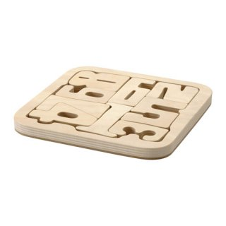 IKEA イケア パズル ナンバーズ 合板 c70318991 PYSSLA