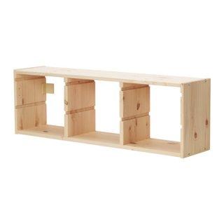 IKEA イケア ウォール収納 パイン材 c00308702 TROFAST