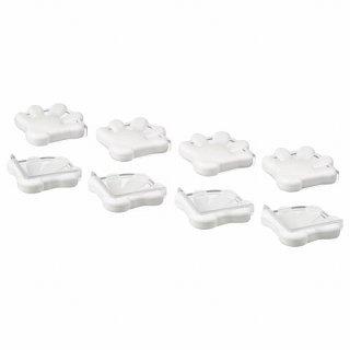 IKEA イケア コーナーバンパー 8 ピース ホワイト a50175605 PATRULL