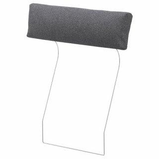 IKEA イケア VIMLE ヴィムレ カバー ヘッドレスト用 グンナレド ミディアムグレー z50410090