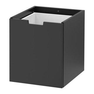 IKEA イケア NORDLI ノールドリ モジュール式チェスト チャコール z10415037