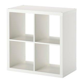 IKEA イケア KALLAX シェルフユニット ホワイト b70351886