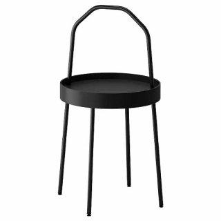 IKEA イケア BURVIK ブールヴィーク サイドテーブル ブラック z00340387