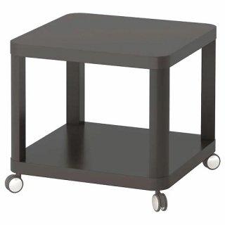IKEA イケア TINGBY ティングビー サイドテーブル キャスター付き グレー 50x50cm z70349445