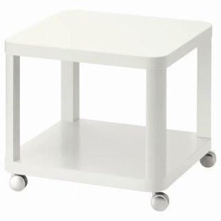 IKEA イケア TINGBY ティングビー サイドテーブル キャスター付き ホワイト 50x50cm z60295928