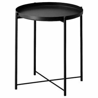 IKEA イケア GLADOM グラドム トレイテーブル ブラック z00411997