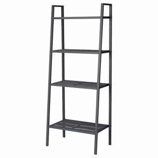 IKEA イケア LERBERG レールベリシェルフユニット ダークグレー 60x148cm b60186401