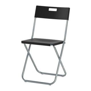 IKEA イケア GUNDE 折りたたみチェア ブラック c80217798