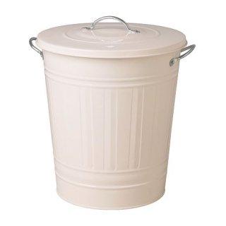 IKEA イケア KNODD  ふた付きゴミ箱 40L ホワイト a50171768