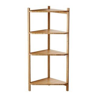 IKEA イケア RAGRUND コーナー シェルフ ユニット 竹 a20253082