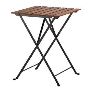 IKEA イケア TARNO 折りたたみ式テーブル 屋外用 アカシア材 ブラウンステイン a80165129