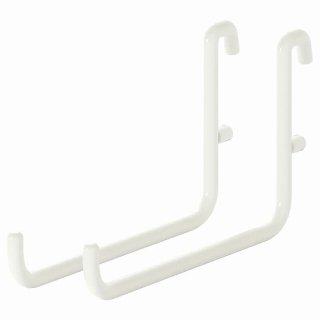 IKEA イケア フック ホワイト n30335619 SKADIS