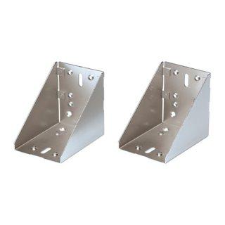 IKEA イケア UTRUSTA コーナー固定具/ 2 ピース 亜鉛メッキ a20305972