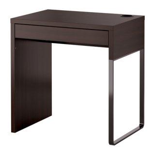 IKEA イケア デスク ブラックブラウン 黒 茶 b20354279 MICKE ミッケ