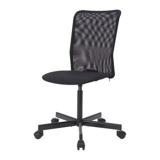 IKEA イケア TOBERGET 回転チェア デスク用チェア ヴィースレ ブラック z70392660