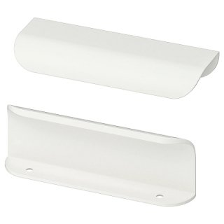 IKEA イケア 取っ手 ホワイト 12 cm n70334302 BILLSBRO