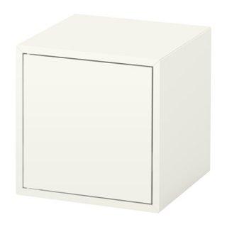 IKEA イケア EKET キャビネット 扉付 ホワイト b50332115