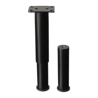IKEA イケア サポート 脚 ベッド用 ブラック SULTAN a70172823