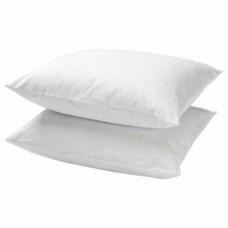 IKEA イケア 枕カバー / 2 ピース ホワイト DVALA 00357245