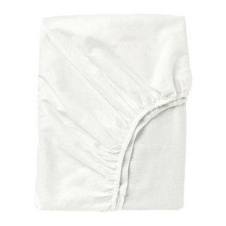 IKEA イケア ボックスシーツ ホワイト クイーン 160x200cmz70347677 FARGMARA
