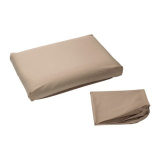 IKEA イケア 枕カバー エルゴノミックピロー用 ベージュ DVALA z40228157