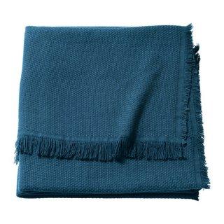 IKEA イケア ひざ掛け ブルー 130x170cm ODDRUN z10395794