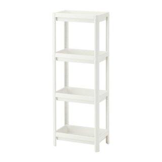 IKEA イケア VESKEN シェルフユニット ホワイト d20307867