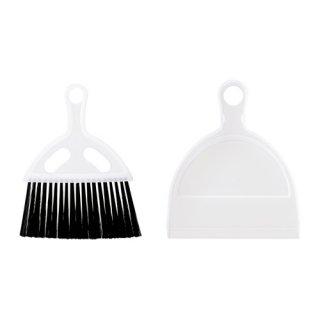 IKEA イケア LASKIS ほうきセット 透明 d10307542
