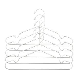 IKEA イケア STAJLIG ハンガー 室内/屋外用 / 5 ピース ホワイト d20291418