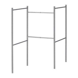 IKEA イケア BROGRUND 伸長式タオルスタンド ステンレススチール n10408999