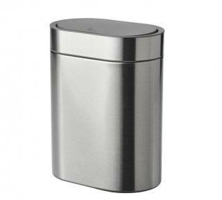 IKEA イケア BROGRUND ブログルンド タッチ式ゴミ箱 4L ステンレススチール n40433365
