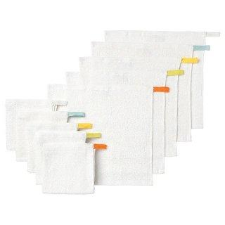 IKEA イケア タオルハンカチ ホワイト30x30cm 10ピース n40169054 KRAMA
