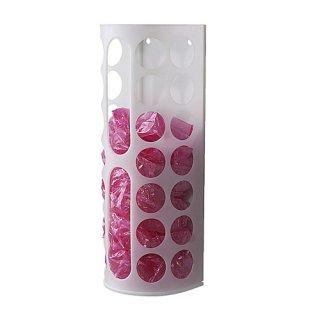 IKEA イケア プラスチック袋ディスペンサー ホワイト 白 10136512 VARIERA ジッパー袋