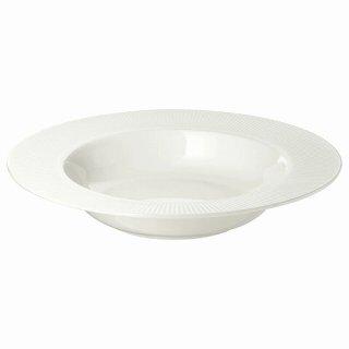 IKEA イケア 深皿 24cm ホワイト  OFANTLIGT E40319020