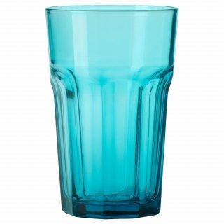 IKEA イケア グラス 350ml ターコイズ z20342899 POKAL