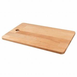 IKEA イケア まな板 45x28cmゴムノキ n80423374 PROPPMATT