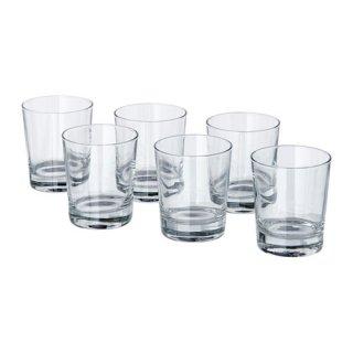 IKEA イケア GODIS グラス コップ 6ピース 230ml クリアガラス z40174588