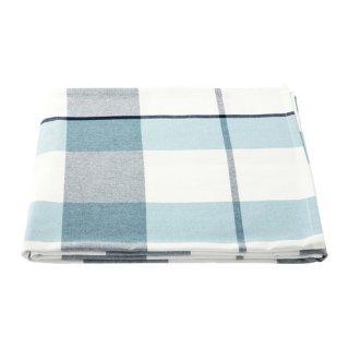 IKEA イケア テーブルクロス チェック模様 ブルー 145x240cm z00364095 RUTIG