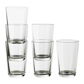 IKEA イケア IKEA 365+ グラス 450ml クリアガラス / 6 ピース d40279712