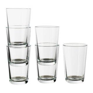 IKEA イケア IKEA 365+ グラス 300ml クリアガラス / 6 ピース d30278360