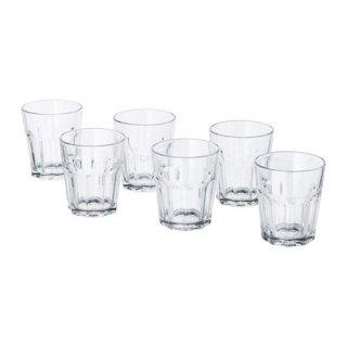 IKEA イケア POKAL グラス 270ml クリアガラス / 6 ピース d70288239