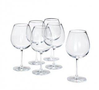 IKEA イケア STORSINT 赤ワイングラス 670ml クリアガラス 6個セット n00396299