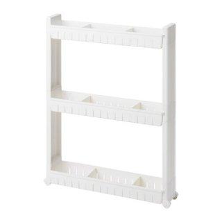 IKEA イケア 収納ユニット キャスター付 LARSOLE n30443119