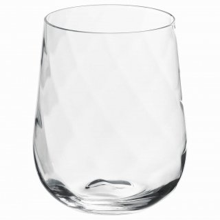 IKEA イケア グラス 350ml クリアガラス KONUNGSLIG n70415888