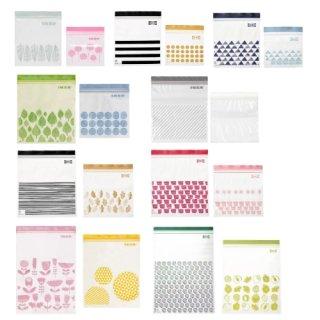IKEA イケア ISTAD イースタード プラスチック袋 フリーザーバック 2サイズセット v0910 ジッパー袋
