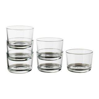IKEA イケア IKEA 365+ グラス 6ピース 180ml クリアガラス 90278357