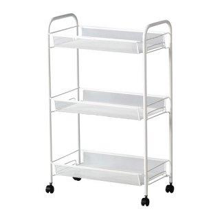 IKEA イケア HORNAVAN ワゴン ホワイト a50243968